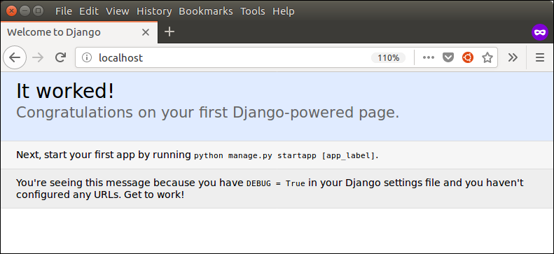 django configuration with apache web server 2