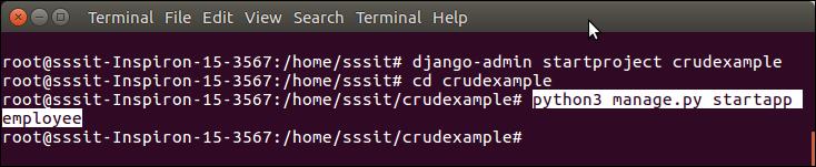 Django CRUD Example - javatpoint