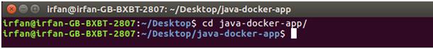 Docker Java application 3