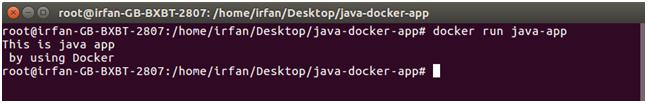 Docker Java application 5