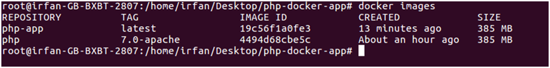 Docker Php application 4