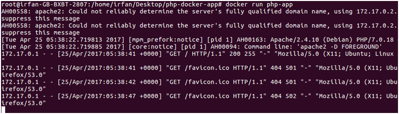 Docker Php application 5