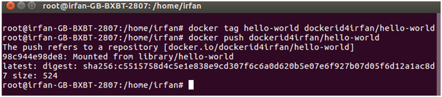 Docker Push repository 4