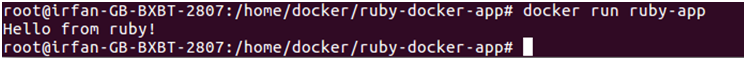 Docker Ruby application 4