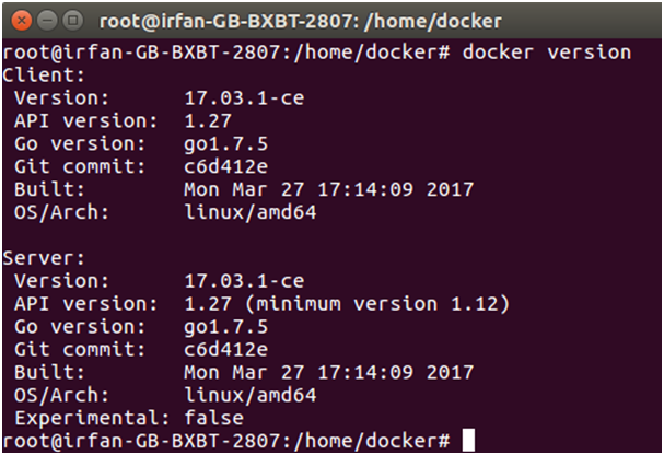 Docker Useful commands 1