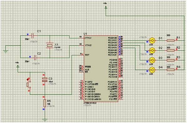 LED Blinking using 8051 Microcontroller1