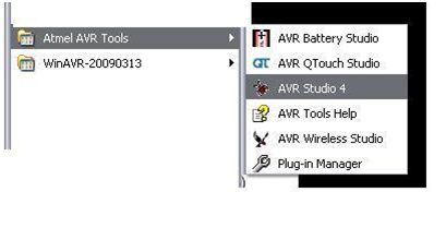 Programming using AVR Studio1