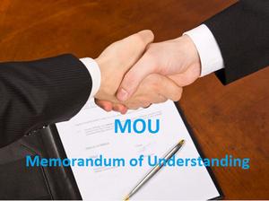 Image result for  memorandum of understanding