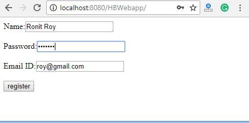 Hibernate Tutorial: Web application with hibernate - javatpoint