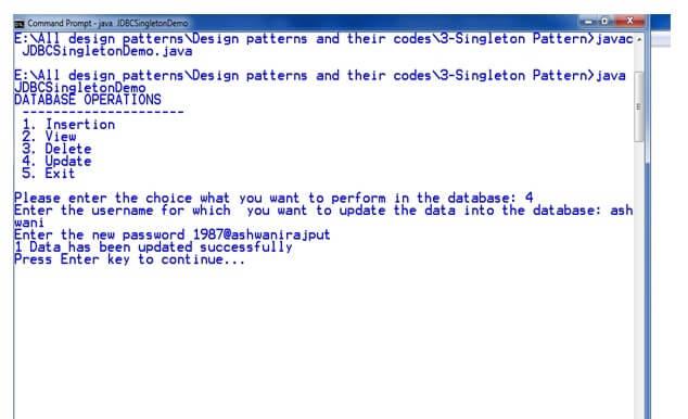 Singleton Design Patterns Javatpoint Beauteous Singleton Pattern In Java