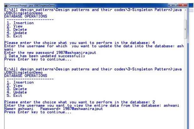 Singleton Design Patterns Javatpoint Extraordinary Singleton Pattern In Java