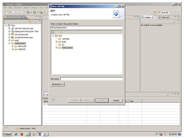 Configuring the web.xml deployment descriptor