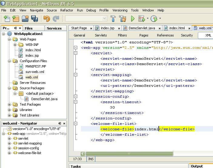How to create Servlet in netbeans IDE - javatpoint