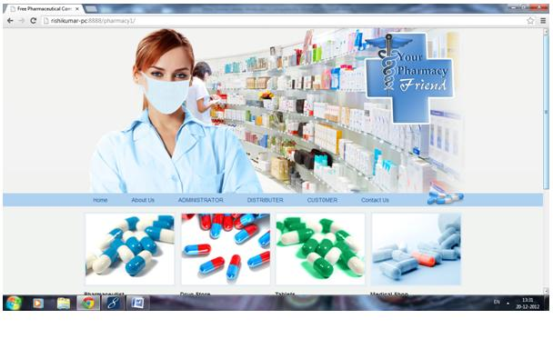 Pharmacy Project Jsp Projects Javatpoint