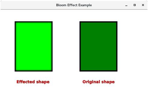 تعلم JavaFx ..مقال31_ التعامل مع المؤثرات البصرية JavaFX - Effects Javafx-bloom-effect