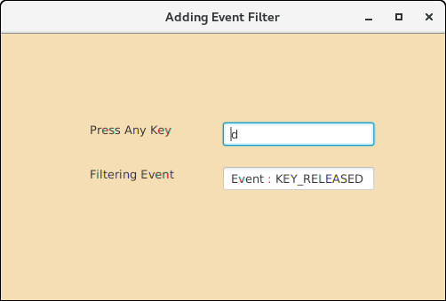 JavaFX Event Filters