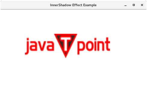 JavaFX InnerShadow Effect