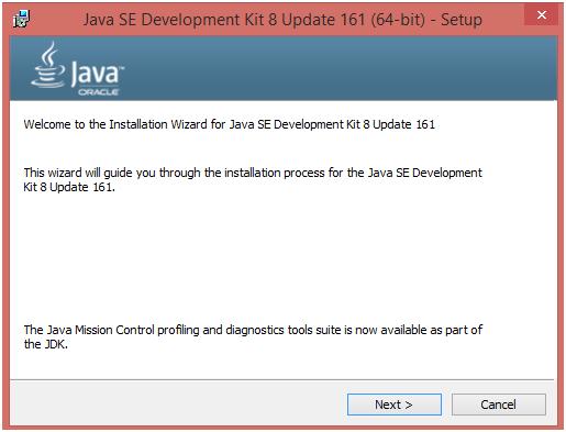 install java 1.8 64 bit windows 7