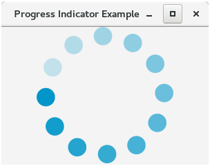 JavaFX Progress Indicator