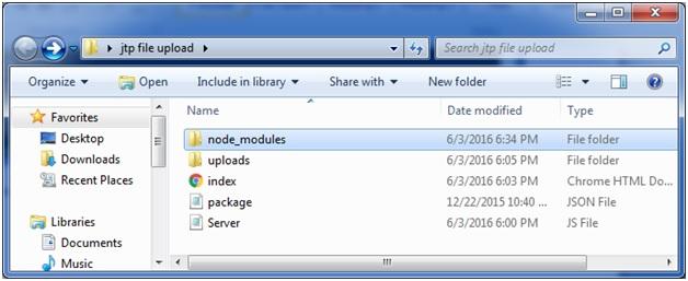 Express js File Upload - javaTpoint