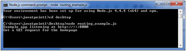 ExpressJS Routing