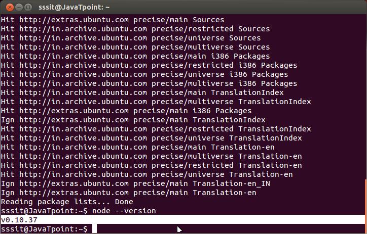 Install Node.js on linux/ubuntu/centos 7