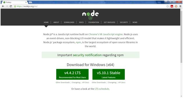 Install Node.js 1