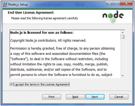 Install Node.js 4