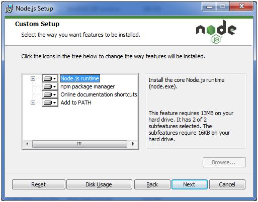 Install Node.js 6