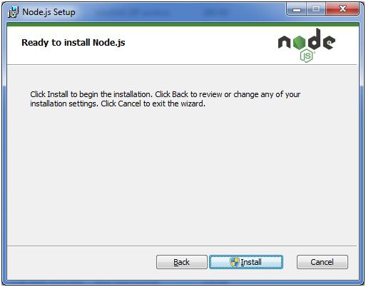 Install Node.js 7