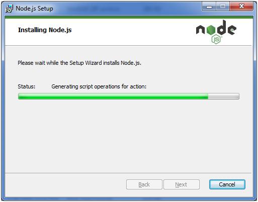 Install Node.js 8