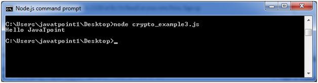 Node.js crypto example 3