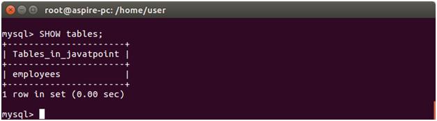 Node.js drop table 2