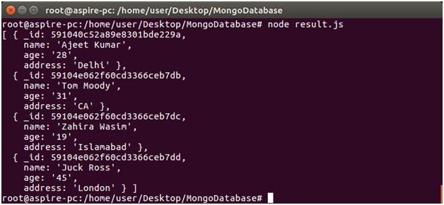 Node.js Remove 2