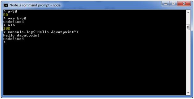node.js repl 4