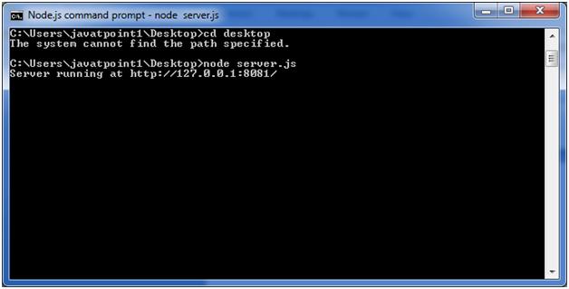 Node.js web module1