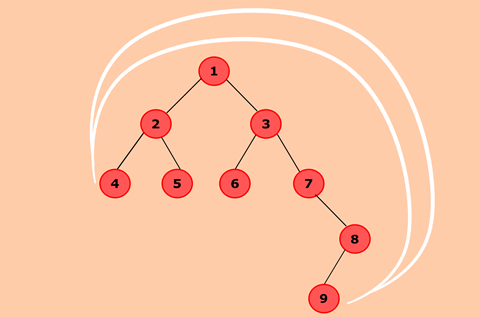 Program to find the nodes which are at the maximum distance in a Binary Tree
