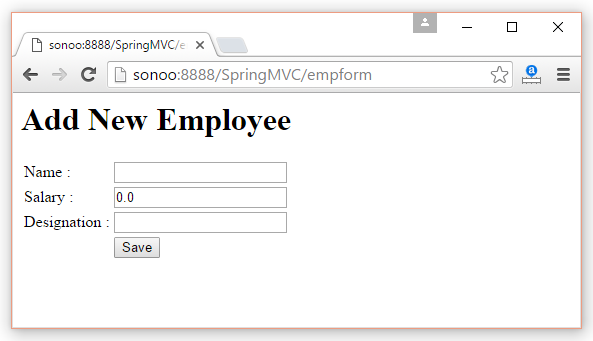 Spring Web Model-View-Controller