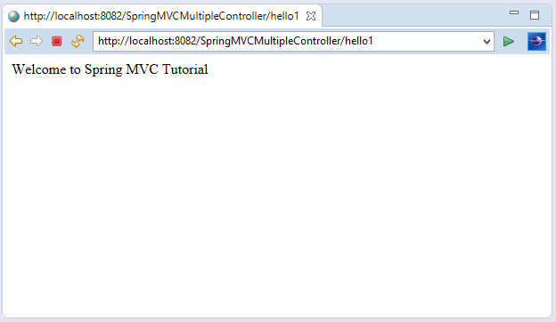Spring MVC Multiple Controller