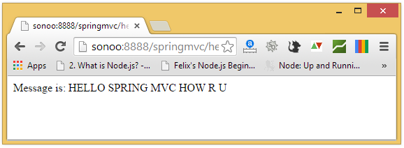 spring mvc output2
